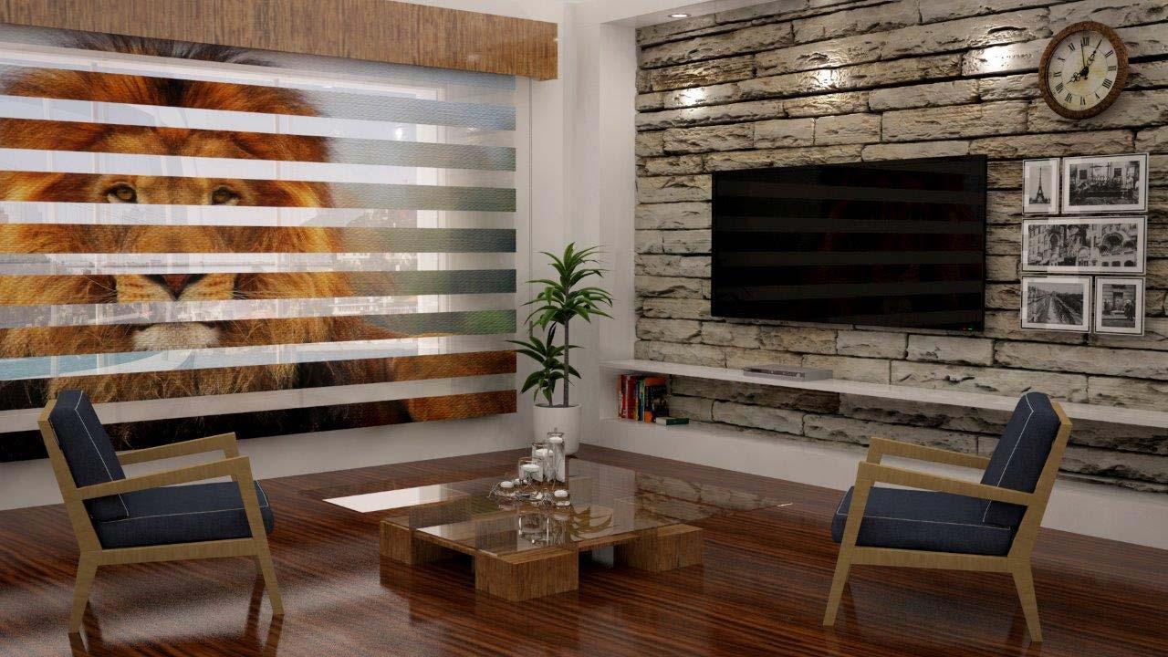 foto doppelrollo bedruckter sonnenschutz. Black Bedroom Furniture Sets. Home Design Ideas