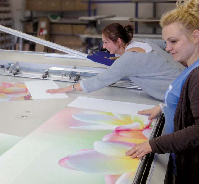 Hersteller Flächenvorhang Digitalprint